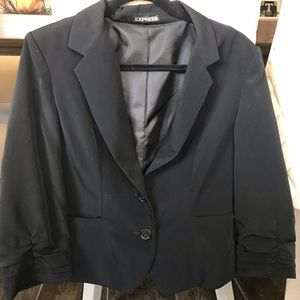 Express women's black blazer